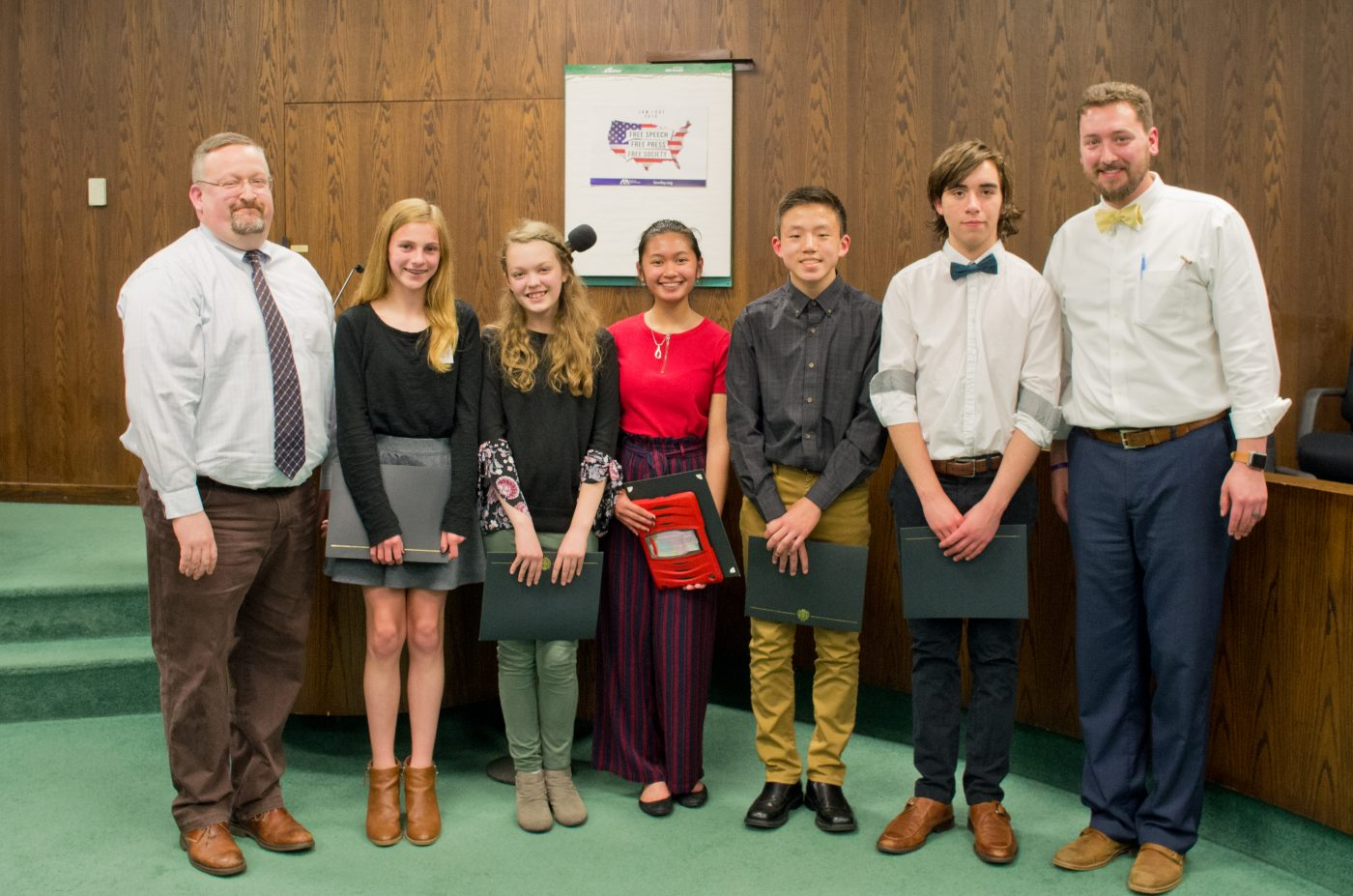 Law Day Essay Contest Winners