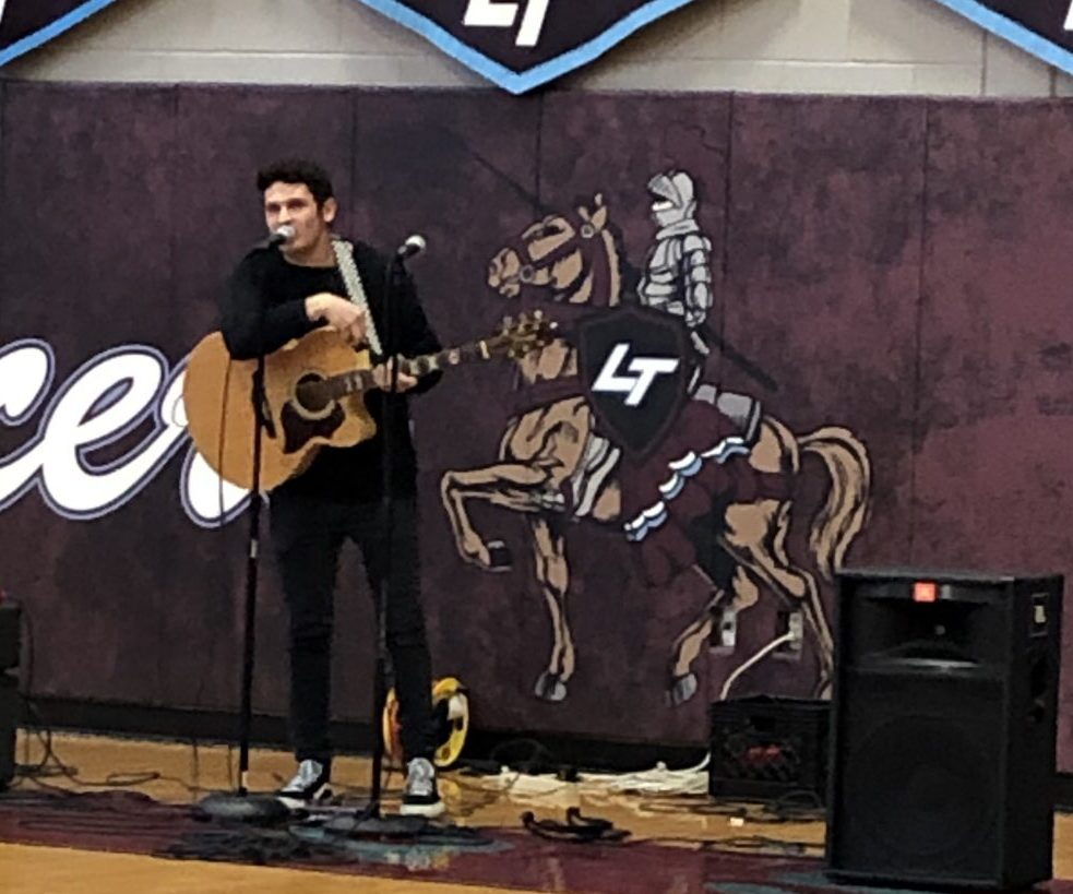 Dylan Rockoff Performing for LTHS